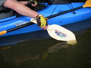 Piranha Kayak Fishing Hand Paddle
