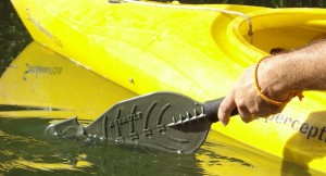 Assault Hand Paddle providing stealth and mobility!