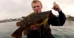 Gary Robinson - Irish kayak angler.