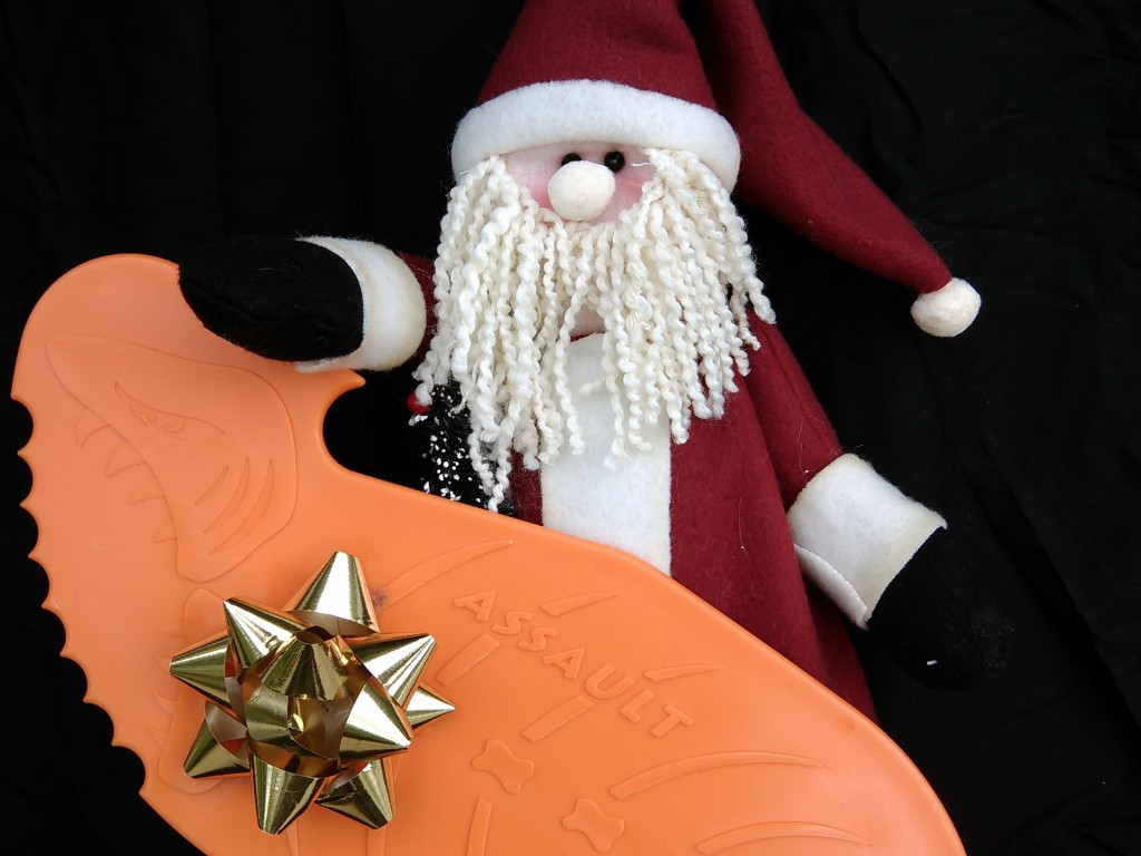 Santa's Orange Assault Hand Paddle